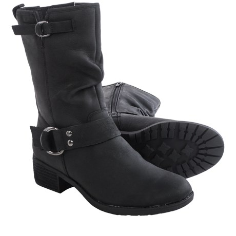 Hush Puppies Emelee Overton Leather Boots - Waterproof, Insulated (For Women)