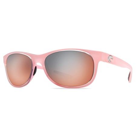 Costa Prop Sunglasses - Polarized 580P Mirror Lenses
