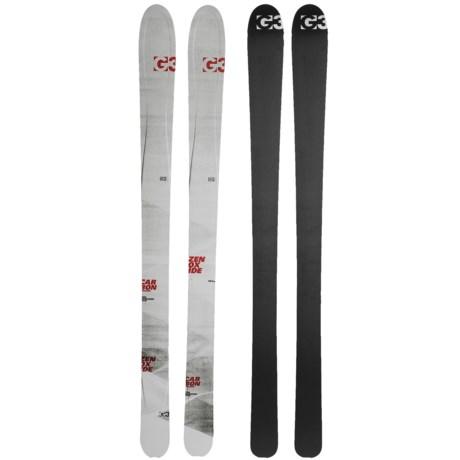 G3 Zenoxide Carbon Fusion 105 Alpine Skis