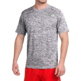 Tapout Space-Dye Tech Active Crew Shirt - Short Sleeve (For Men)