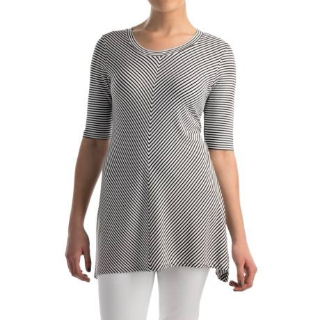 Premise Studio Tunic Shirt - Elbow Sleeve (For Women)