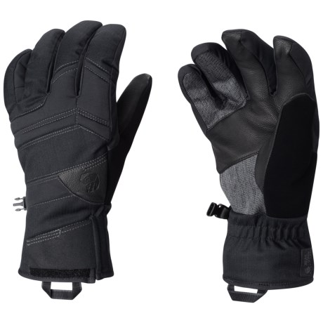 Mountain Hardwear Dragon's Back Gloves - Waterproof, Insulated (For Men)
