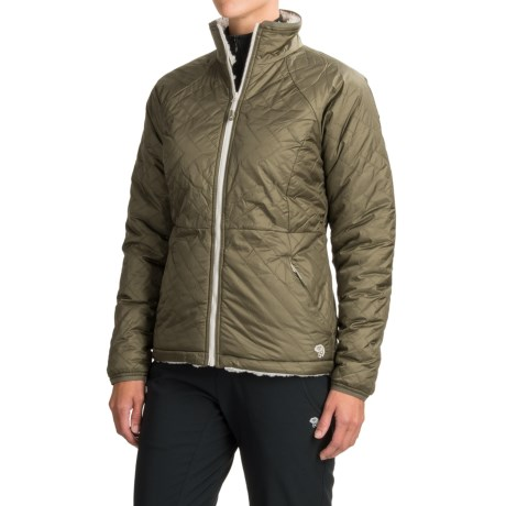 Mountain Hardwear Switch Flip Jacket - Insulated, Reversible (For Women)