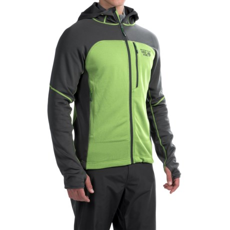 Mountain Hardwear Desna Grid Hooded Jacket - Polartec® Power Dry® (For Men)