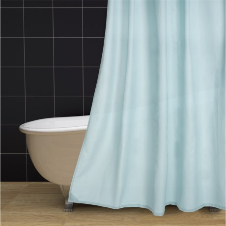 """Commonwealth Home Fashions Commonwealth Textured Classic Shower Curtain - 70x72"""""""