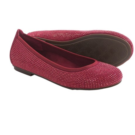 Vionic with Orthaheel Technology Willow Ballet Flats - Leather (For Women)