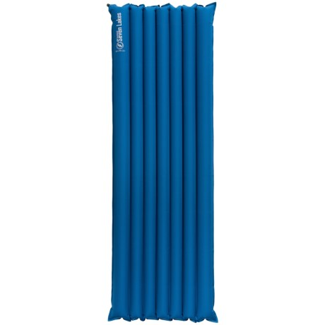 Big Agnes Seven Lakes Insulated Air Pad - Wide, Long, Inflatable, Insulated