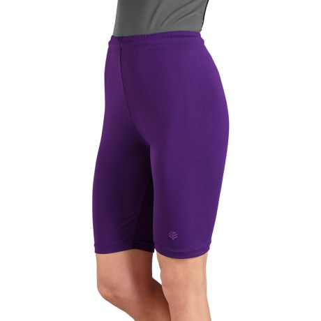 Coolibar Fitted Swim Shorts - UPF 50+ (For Women)