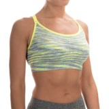 Spalding Seamless Space-Dye Sports Bra - Medium Impact, Convertible Straps (For Women)