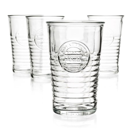 Bormioli Rocco Officina 1825 Water Glass - 11 fl.oz., Set of 4