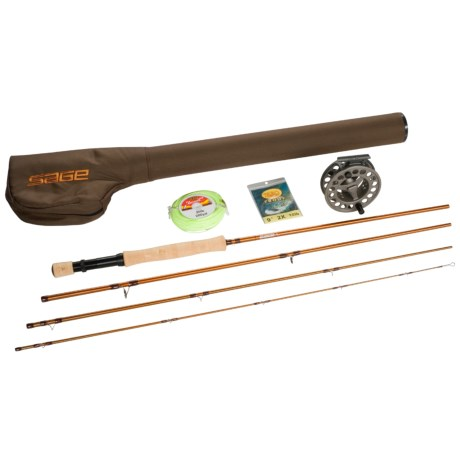 Great rod and reel combo sage fli fly fishing rod with for Fly fishing reel reviews