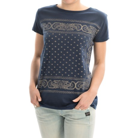 Andrea Jovine AJ  Printed T-Shirt - Short Sleeve (For Women)