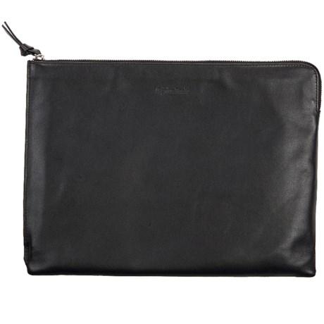 Genius Pack Luxe Leather Portfolio Bag