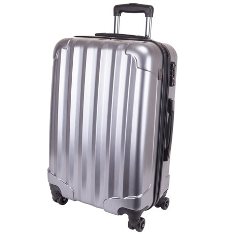 """Genius Pack Hardside Spinner Rolling Upright Suitcase - 25"""""""