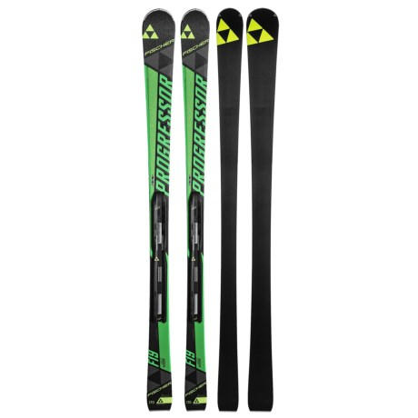 Fischer Progressor F19 Ti Skis - RSX 12 Powderail Bindings