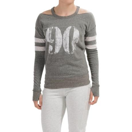 Steve Madden Cold Shoulder 90 Sweatshirt (For Women)