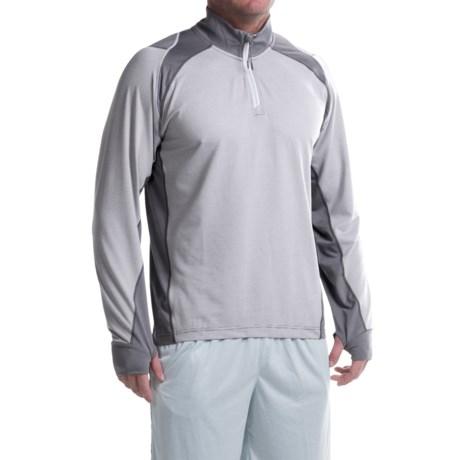 Avalanche Gravity Shirt - Zip Neck, Long Sleeve (For Men)