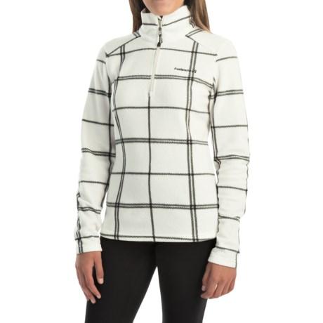 Avalanche Fairmont Fleece Shirt - Zip Neck, Long Sleeve (For Women)