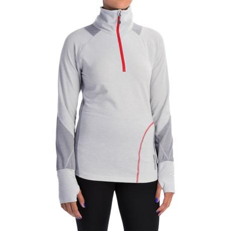 Avalanche Hype Shirt - Zip Neck, Long Sleeve (For Women)