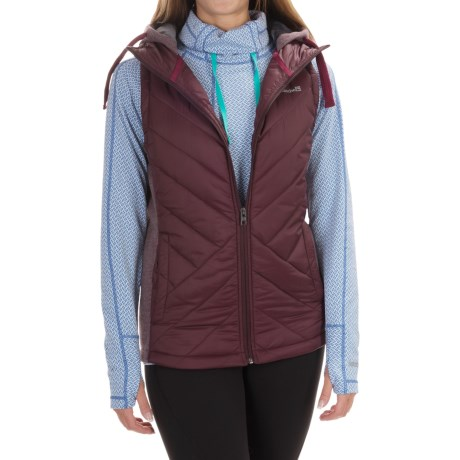 Avalanche Wear Arctic Hybrid Vest - Hooded, Insulated (For Women)