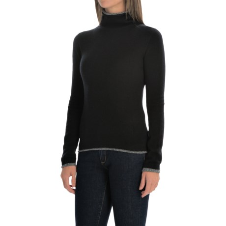 Philosophy Cashmere Turtleneck Sweater (For Women)