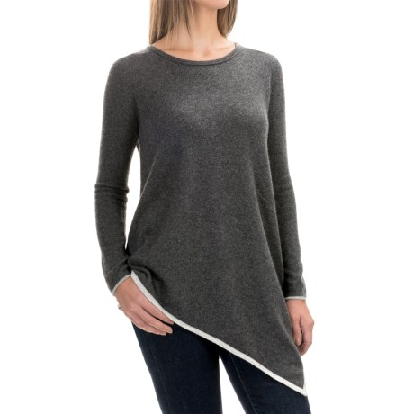 Philosophy Cashmere Handkerchief Sweater (For Women)