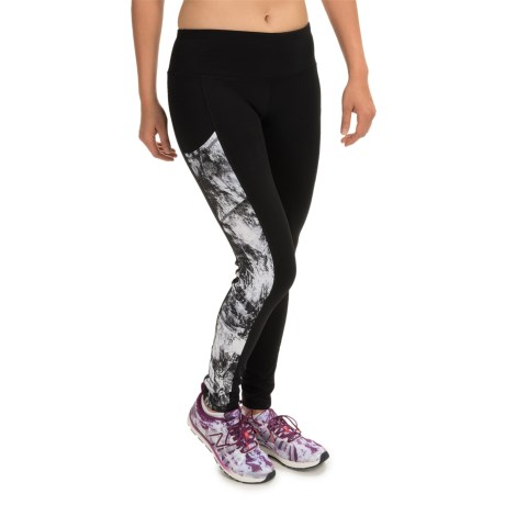 90 Degree by Reflex Side-Printed Leggings (For Women)