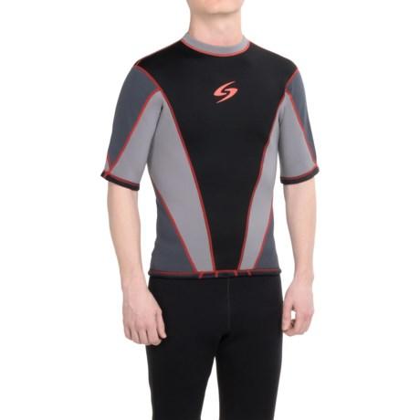 Surftech 1.5 mm Neoprene Shirt - Short Sleeve (For Men)