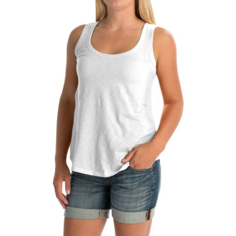 Mercer & Madison Cream Tank Top - Pima Cotton (For Women)
