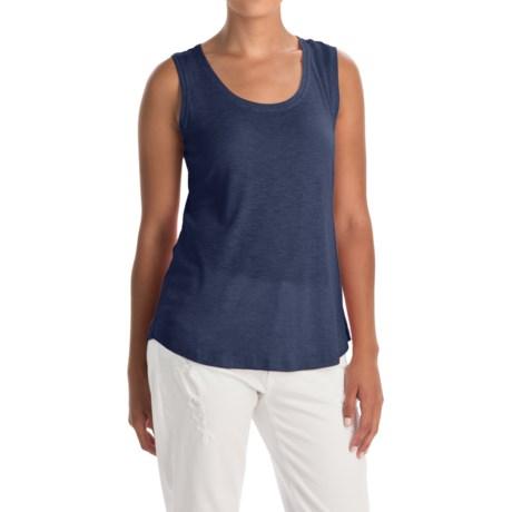 Lucy & Laurel Slub Tank Top - Cotton-Modal (For Women)