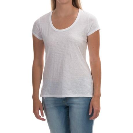 Mercer and Madison Pima Cotton T-Shirt - Short Sleeve (For Women)