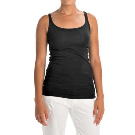 Cynthia Rowley Pima Cotton-Modal Tank Top (For Women)