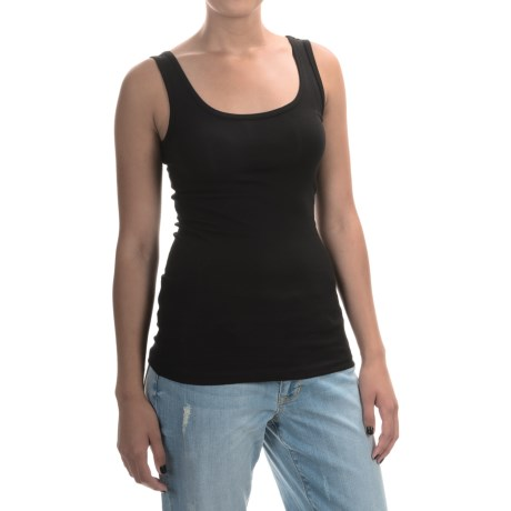 Cynthia Rowley Pima Cotton-Modal Stretch Tank Top (For Women)