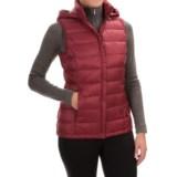 32 Degrees Silk Nano Down Vest - 650 Fill Power, Detachable Hood (For Women)