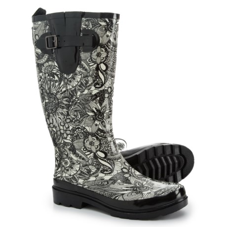 Sakroots Rhythm Rubber Rain Boots - Waterproof (For Women)