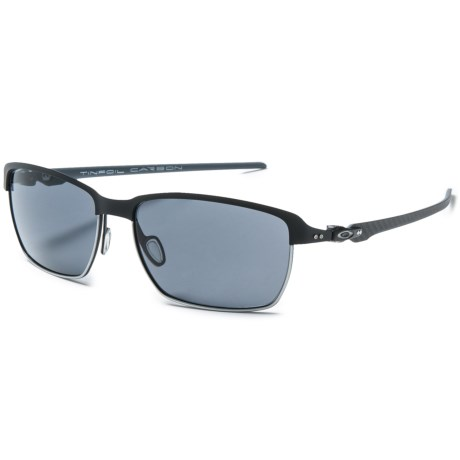 Oakley Tinfoil Carbon Sunglasses - Plutonite® Lenses