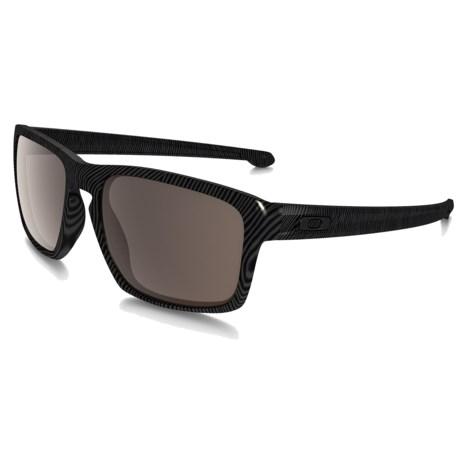 Oakley Sliver Fingerprint Sunglasses