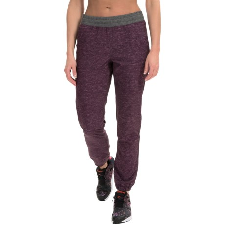 RBX Heathered Stretch-Woven Joggers (For Women)