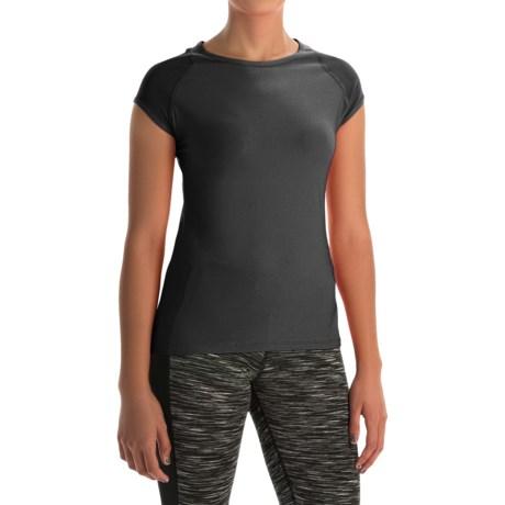 Vogo Power Mesh T-Shirt - Short Sleeve (For Women)