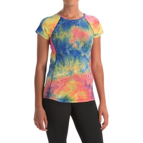 Vogo Tie-Dye T-shirt - Short Sleeve (For Women)