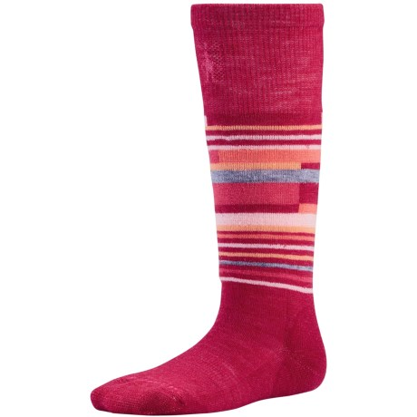 SmartWool Wintersport Stripe Socks - Merino Wool (For Kids)