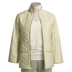 Barbour Muted Stripe Jacket - Quilted (For Women)