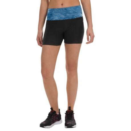 Vogo Tie-Dye Waist Shorts (For Women)