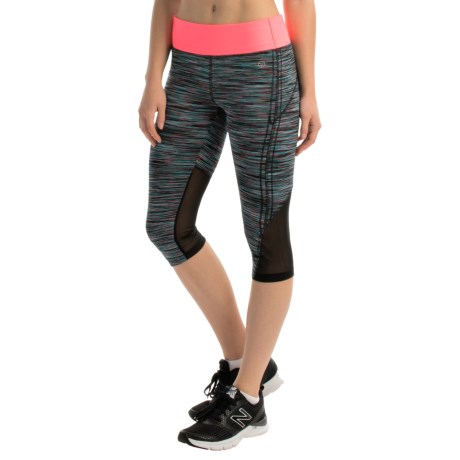 Vogo Space-Dyed Capris (For Women)