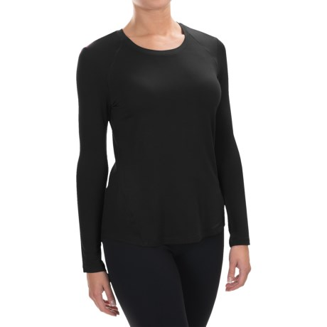 Spalding Effortless Shirt - Rayon, Long Sleeve (For Women)