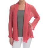 Nomadic Traders Gossamer Long Wrap Cardigan Sweater (For Women)