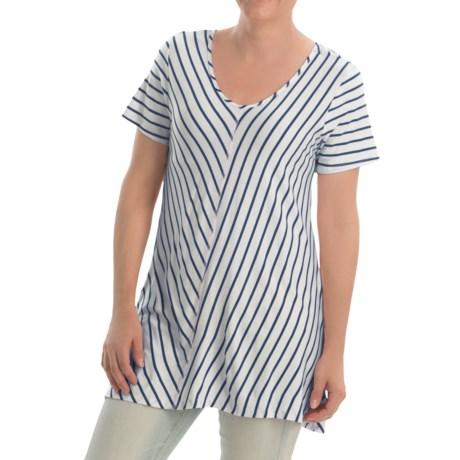 NTCO Ship & Shore Laurel Tunic Shirt - Stretch Rayon, Short Sleeve (For Women)