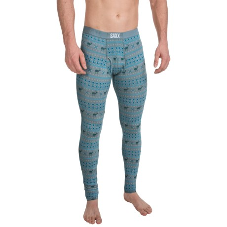 SAXX Underwear Ultra Base Layer Bottoms with Fly (For Men)
