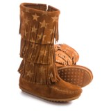 Minnetonka Star Boots (For Little and Big Girls)