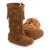 Minnetonka Moccasin Minnetonka Star Boots - Suede (For Toddlers)